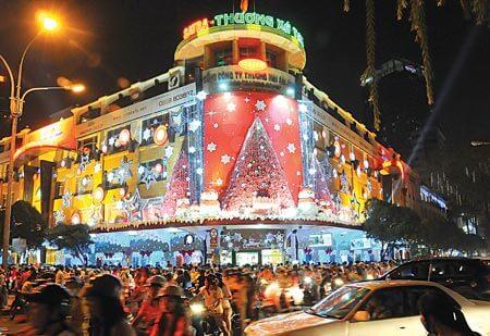 Lumi res festives et d corations de no l ho chi minh for Acheter maison au vietnam