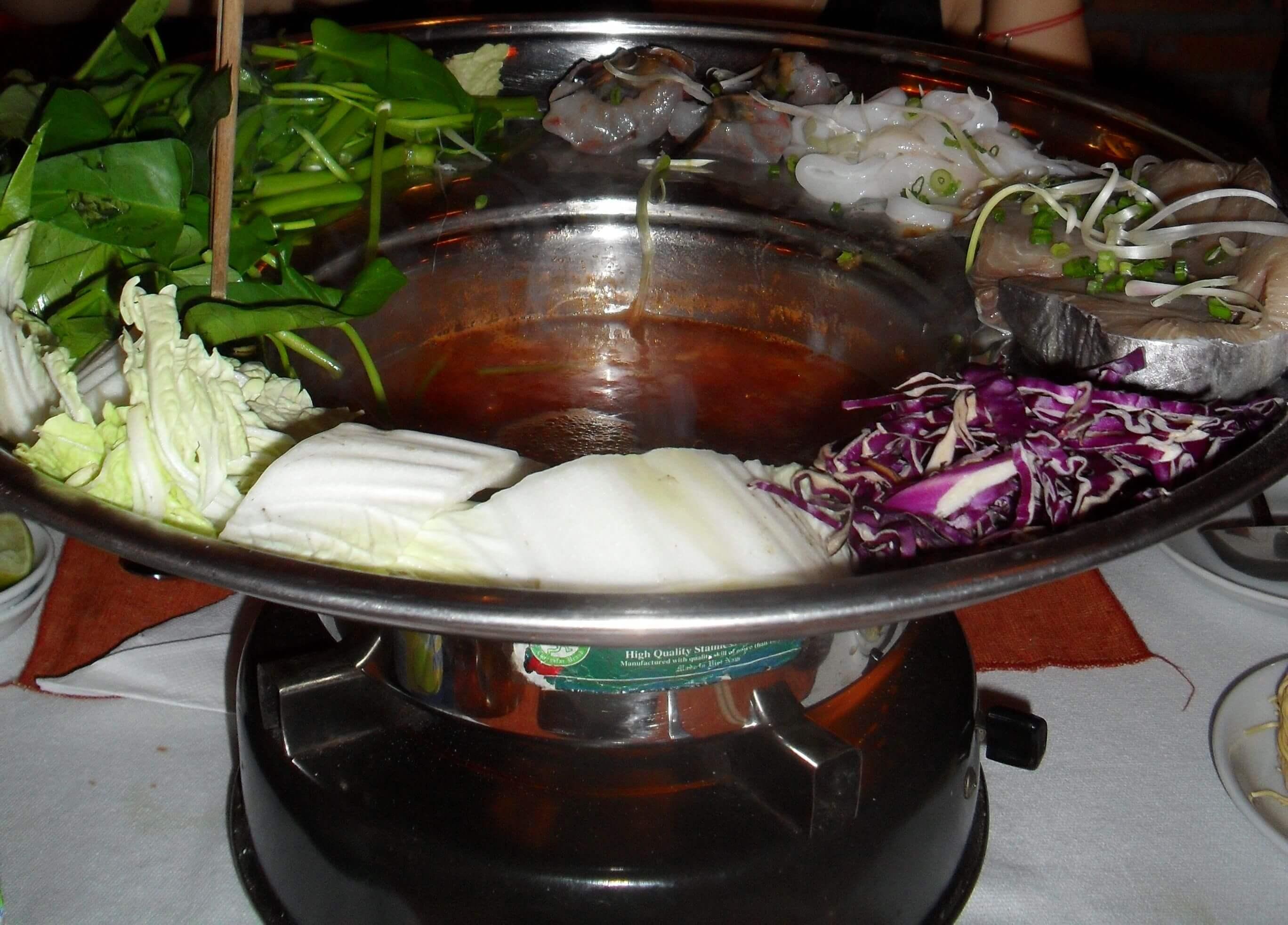 Fondue vietnamienne cuisine asiatique - Fondue vietnamienne cuisine asiatique ...