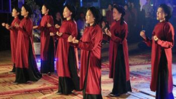 Le Hat Xoan ou chant printanier, reçoit la reconnaissance de l'UNESCO