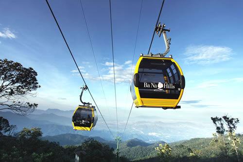 Le téléphérique de Ba Na à Da Nang établit quatre records du monde