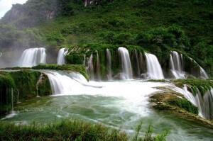 Ban Gioc cascades vietnam