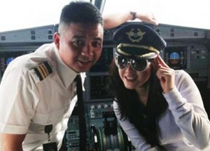 Ly Nha Ky et pilote vietnam airlines