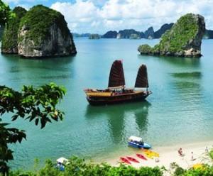 tourisme de luxe vietnam baie d'halong