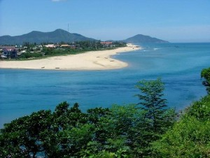 Lang Co plage vietnam Hue