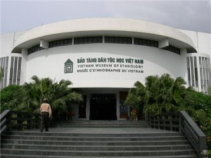 the Vietnam Ethnology museum hanoi