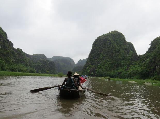tam coc bateau vietnam