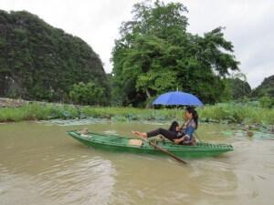 tam con baie along terrestre bateau vietnam