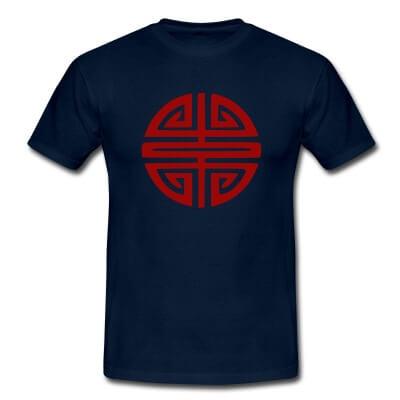 T-shirt avec le symbole du bonheur vietnamien